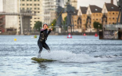 Wakeboard x SUP Yoga London Highlights